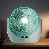 Piesome Rechargeable Desk Fan