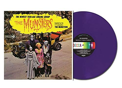 The Munsters Original TV Soundtrack Exclusive Limited Edition Purple Vinyl LP