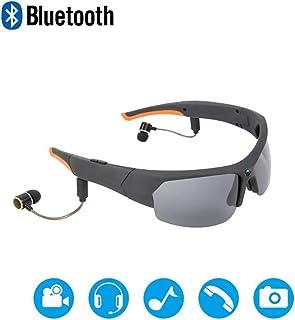 Gafas de sol de la cámara HD 1080P de la cámara espía Auricular Bluetooth Mini grabador de vídeo DV cámara USB Hidden Cameras Cámara de acción Palo Dash Cam Gafas para la pesca deportiva Esquí