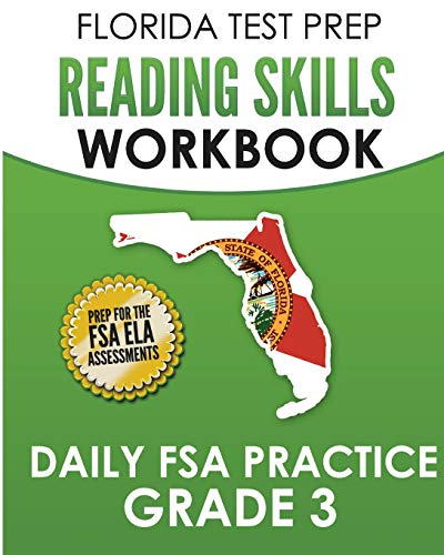 Compare Textbook Prices for FLORIDA TEST PREP Reading Skills Workbook Daily FSA Practice Grade 3: Preparation for the FSA ELA Reading Tests  ISBN 9781724637284 by Test Master Press Florida