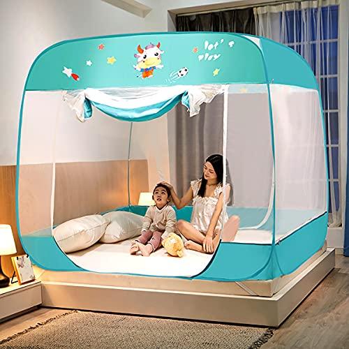 EYCIEROT Mosquitera universal de fácil instalación para colgar cama de tamaño individual a king hamacas Cunas