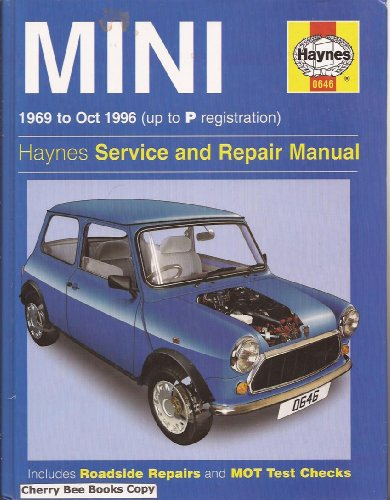 Mini (69-96) Service and Repair Manual (Haynes Service and Repair Manuals)