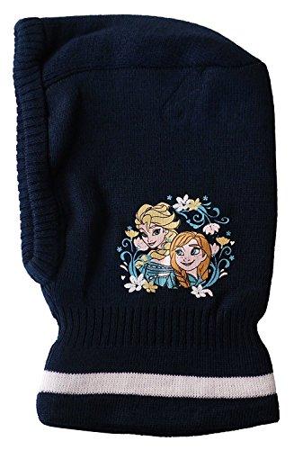 Disney Frozen Die Eiskönigin Schlupfmütze Mütze Sturmmütze Anna Elsa, NEU(Dunkelblau)