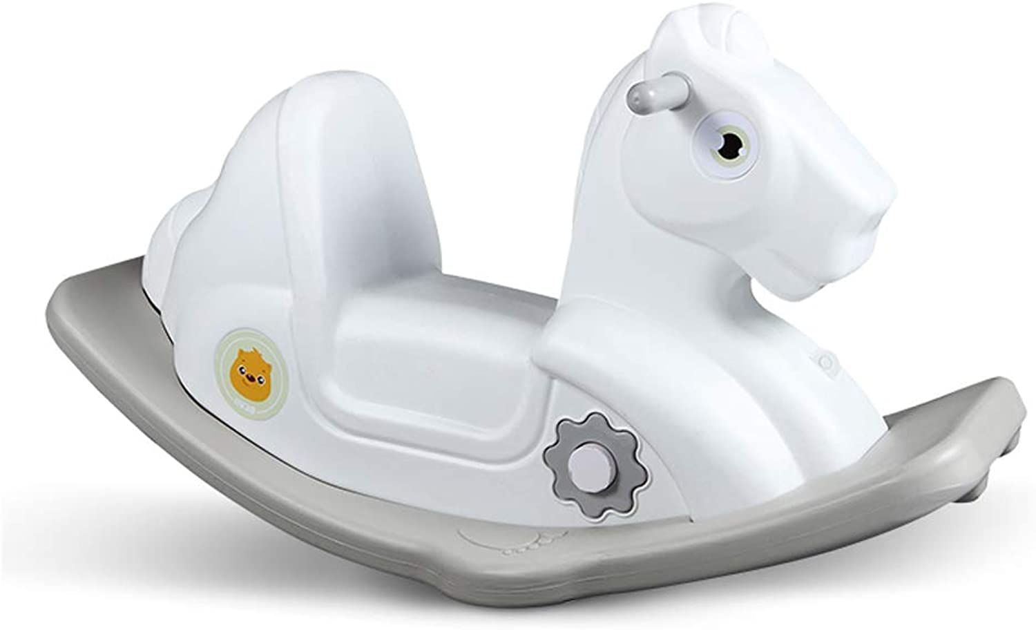 LITING Rocking Horse Toy Baby Trojan Baby Shake Horse Large Thicken Baby 1-2-3 Years Old Gift