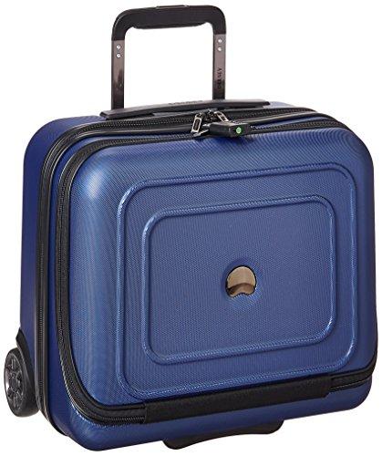 DELSEY Paris Cruise Lite Hardside 2 Wheel Underseater W/Front Pocket, Blue, One Size