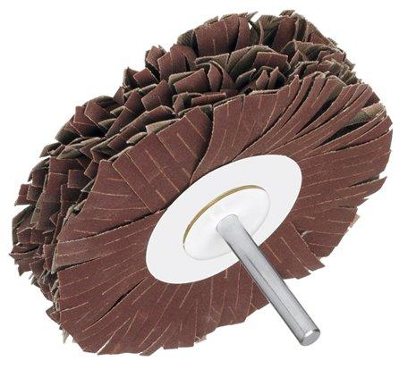 Original-Kemper-Schleifstern® mit 6-mm-Schaft zur Aufnahme im Bohrfutter, 100 mm Durchmesser (Körnung 240)