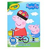 Crayola Peppa Pig Coloring Book with Stickers, Gift for Kids, 96 Pages, Ages 3, 4, 5, 6