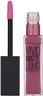 Maybelline B2728200 Vivid Matte Liquid Lip Gloss- 45 Posessed Plum