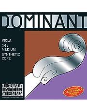 Thomastik Cuerda para Viola 4/4 Dominant - cuerda Sol núcleo en nylon entorchado en plata, mediana
