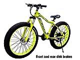Dexter Front Suspension 21-Speed Adventure Sports Mountain Bike for Menâ€s and Womenâ€s Bike...