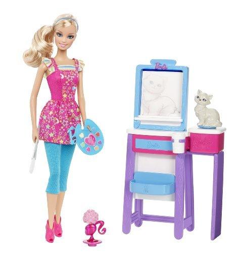Barbie - Quiero Ser Profesora De Dibujo (Mattel)