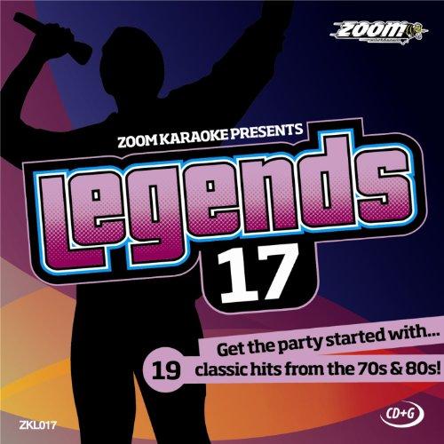 Zoom Karaoke CD+G - Legends Volume 17 - Supertramp/Electric Light Orchestra/10cc/Phil Collins [Card Wallet]