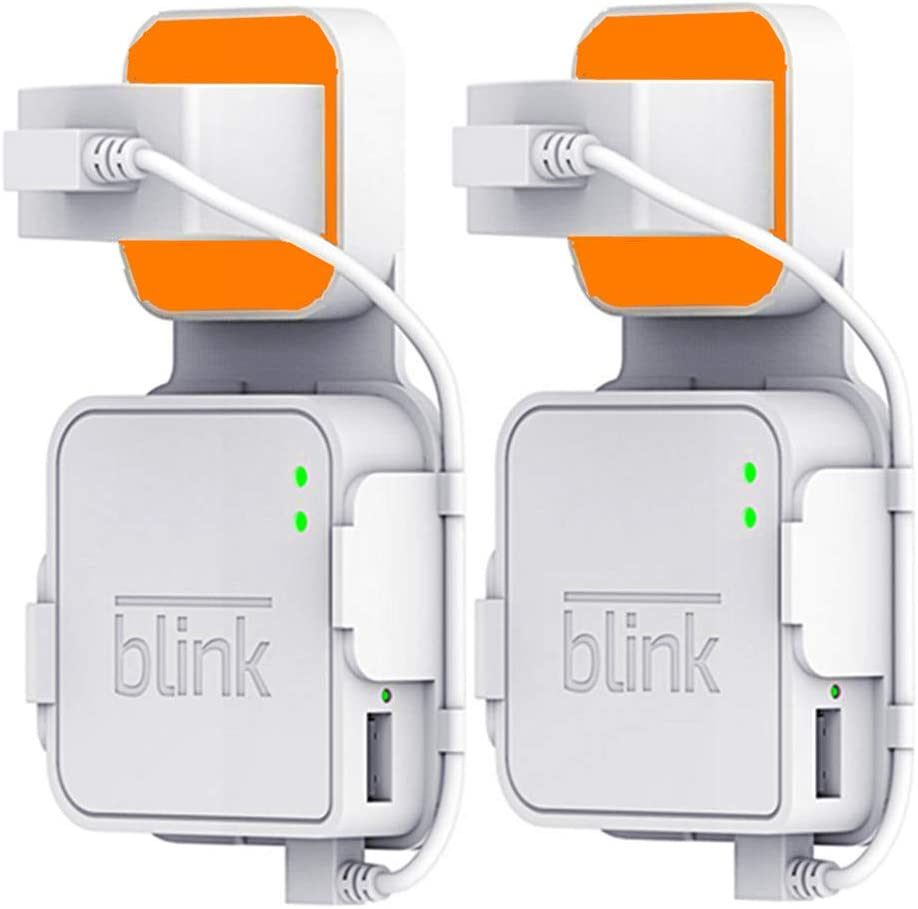 FARSAIL 2-Pack Wall Mounts for Blink Sync Module, Blink XT Accessories Compatible with Blink Home Security Cameras, No Messy Wires or Screws