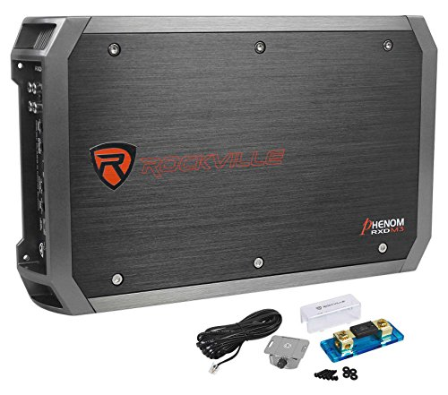 """Rockville 2000w Mono Amplifier Amp for (1) Kicker 44CVX152 Comp VX 15"""" Subwoofer"""