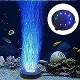 LONDAFISH Acuario piedra burbuja luz sumergible tanque de peces burbuja aire luz LED bomba de aire burbuja lámpara de piedra para tortuga peces tanque decoración