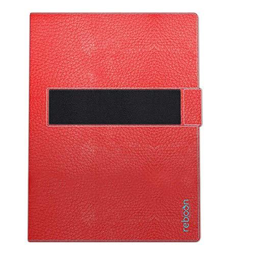 Hülle für Hewlett Packard ElitePad 1000 G2 Tasche Cover Hülle Bumper | in Rot Leder | Testsieger