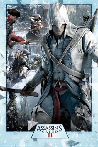 Assassins Creed Revelations - 3 - Collage Games, Maxi-Poster, Druck, Poster - Grösse 61x91,5 cm