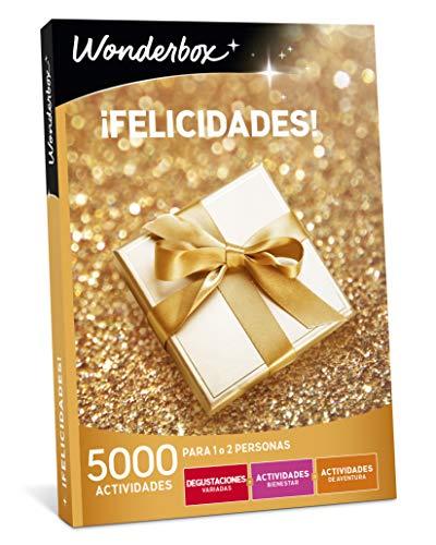 WONDERBOX Caja Regalo para mamá -¡FELICIDADES!- 5.000 Actividades para una o Dos Personas