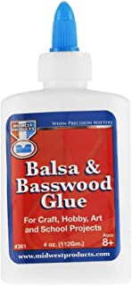 Midwest Glue Balsa & Basswood Glue 4 oz.