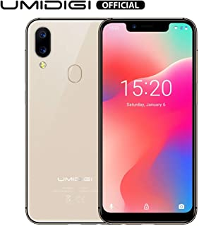 "UMIDIGI A3 Pro Mobile Phone Unlocked Dual 4G Volte Smart Phone 5.7"" Incell 19:9 Full-Screen Display 3GBRAM+16GB ROM 2+1 Triple Slot Face Unlock 12MP + 5MP Dual Camera Android 9.0"