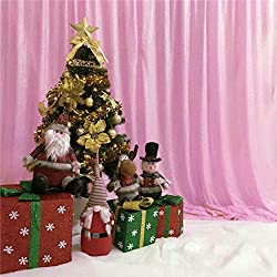 6Ftx6Ft Blush Pink Sequin Photo Booth Backdrop