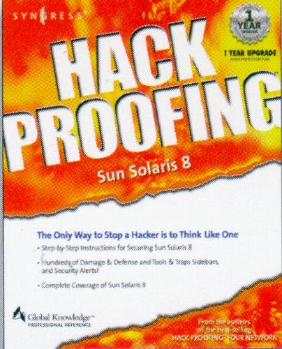 Hack Proofing Sun Solaris 8 (English Edition)