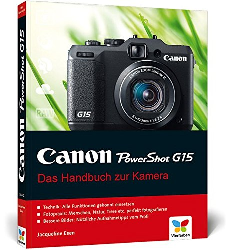 Canon PowerShot G15: Das Handbuch zur Kamera