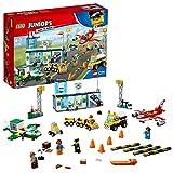 LEGO Juniors - L'aéroport City Central - 10764 - Jeu de Construction