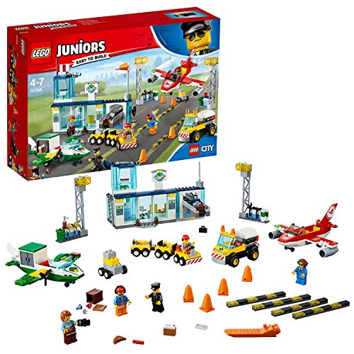 Lego 6213868    Lego 4+ City Central Luchthaven - 10764, Multicolor