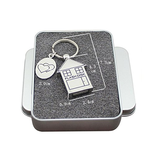 FeliSun Chiavetta USB 3.0 16GB 32GB 64GB DataTraveler Memoria Flash PenDrive Metallo for PC, Television, Car (16GB)