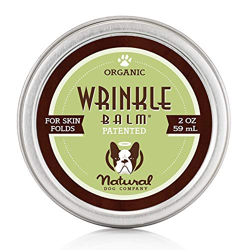Natural Dog Company Faltenbalsam – Biologischer, Veganer Heilbalsam – Hautfalten-Behandlung, Hefenentzündung, Dermatitis, trockene juckende Haut, faltbar, 59 m
