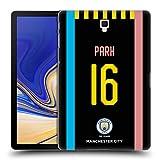 Head Case Designs Oficial Manchester City Man City FC Parque Jess 2019/20 Carcasa rígida Compatible con Galaxy Tab S4 10.5 (2018)