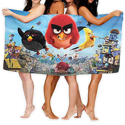 Cute Doormat Angry Birds - Toallas deportivas de microfibra de secado rápido y absorbente, para gimnasio, fitness, yoga, camping