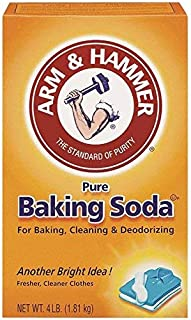 Arm & Hammer Baking Soda Unscented Box, Boxed 4 Lb.