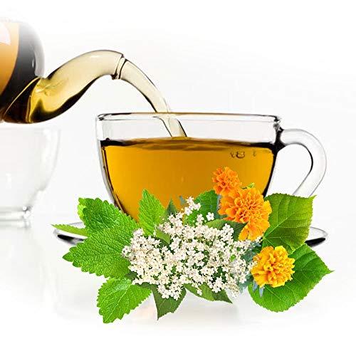 Krauter Tee Zärtlichkeit, natürlicher aromatischer Kräutertee