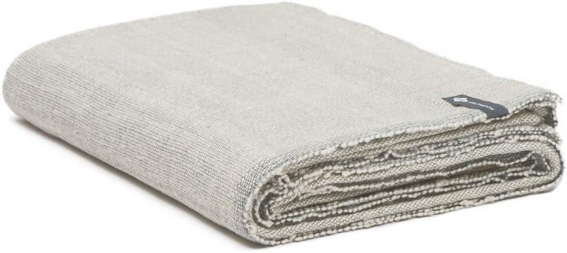 "Halfmoon Yoga Blanket 100% Cotton SEAL limited product x 60"" 80"" Many popular brands Handwo -"
