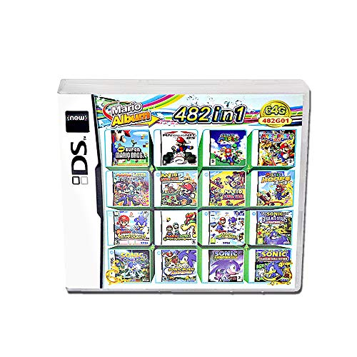 482 juegos en 1 DS game pack Super Combo DS de juego para DS NDS NDSL NDSi 3DS XL Nuevo