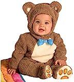 Rubies 885356 - Disfraz de Oso para niños, talla bebé 1-2 años, Marrón