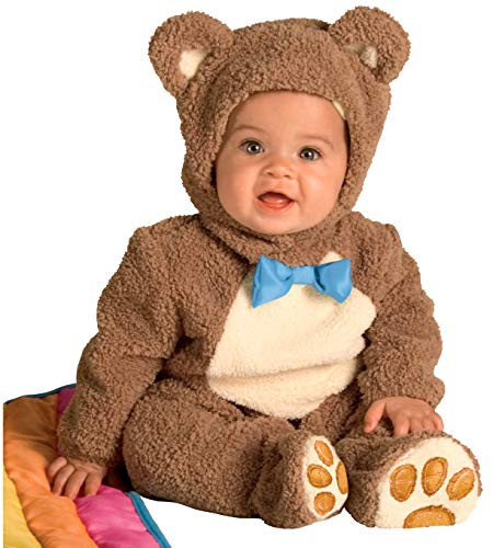 Rubie's Infant Noah Ark Collection Oatmeal Bear Jumpsuit, Brown/Beige, 12-18 Months