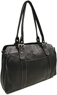 le donne leather laptop bag