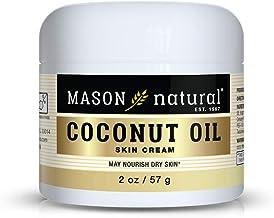 Mason Natural Coconut Oil Beauty Cream, 2 Ounce, 3 Count