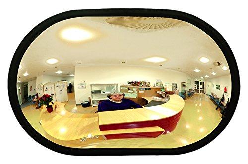 MORAVIA 252.20.458 Raumspiegel aus Acylglas, 520 x 320 x 85 mm
