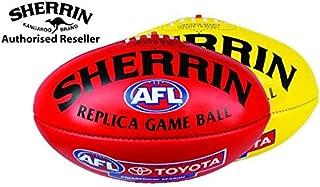 Sherrin Official AFL Replica Game Football PVC Mini 20cm
