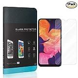 1-Pack NBKASE Verre Tremp/é Protection /écran pour Samsung Galaxy A6 2018, Film Protection D/écran Vitre en Verre Tremp/é HD Transparent,Duret/é 9H Facile /à Installer sans Bulles