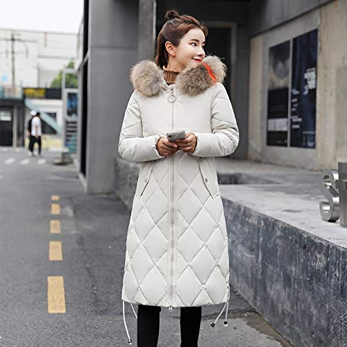 Xiaojie damesmantel van katoen winterjas dames met kleurrijke hooded Womens Jackets Winter Long Female Coat Slim
