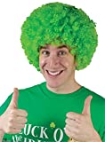 Forum Novelties St. Patrick's Day Costume Wig, Green Afro Style, One Size