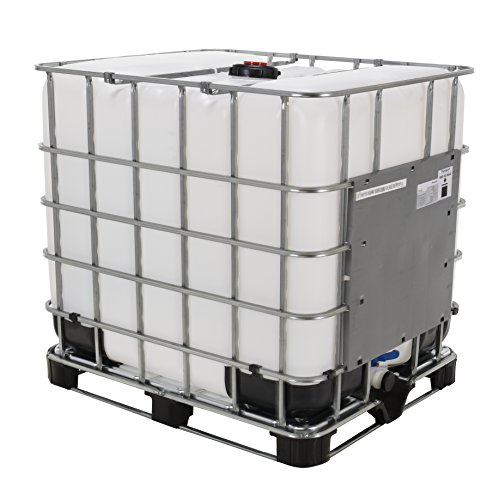 Vestil IBC-275 Steel Intermediate Bulk Crate, 275 Gallon Capacity, 47 Length x 45' Width x 39' Height