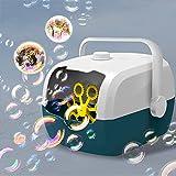 GARDFARM Máquinas de Burbujas Automatic,Máquina de Burbujas Portátil, Juguetes de Burbujas para Celebracion Fiesta Boda Fiesta Día del Niño