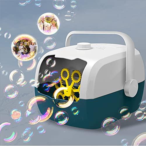 GARDFARM Máquinas de Burbujas Automatic,Máquina de Burbujas Portátil, Juguetes de Burbujas para...