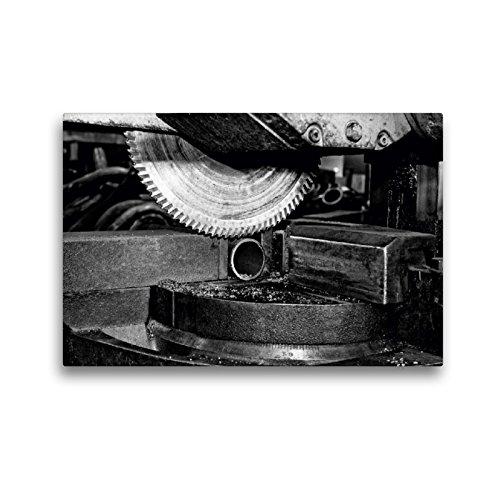 CALVENDO Premium Textil-Leinwand 45 x 30 cm Quer-Format Kreissäge, Leinwanddruck von Gerhard Bomhoff